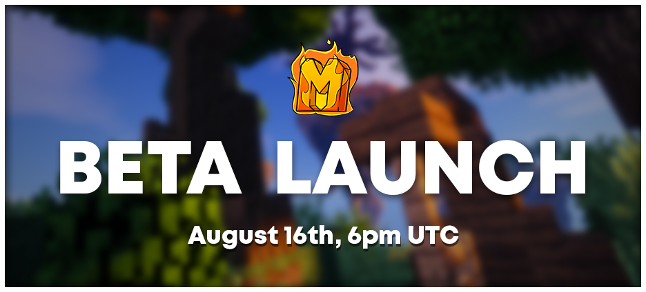 MythicalMC Beta Launch - August 16th, 6pm UTC